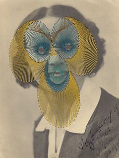 Maurizio Anzeri, embroidery on photograph insanely creepy, in my mind. Collages, Collage Art, Photography Projects, Art Photography, Distortion Photography, John Stezaker, Art Articles, Textiles, Gcse Art