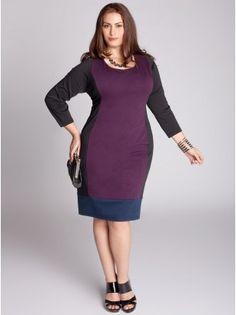 IGIGI Alexandra Colorblock Dress