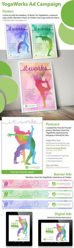 YogaWorks | Ad Campaign on Behance