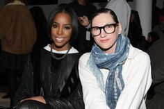 Kelly Rowland and Jenna Lyons  Photo: Getty Images   Beyoncé and Michelle Williams will always be Kelly Rowland's Destiny's Child BFFs, but J. Crew creative director Jenna Lyons may be the singer's best friend in fashion. (Sorry, Tina Knowles, your coordinating outfits have been replaced by, well, preppier — and more covered up — coordinating outfits.)