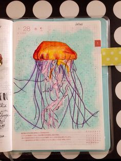 little-doodles18:Sketch Daily - Jellies