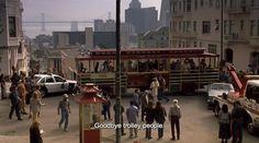 """Princess Diaries (2001) - Julie Andrews: """"Goodbye, trolley people"""""""