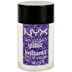 Nyx Cosmetics Face & body glitter brilliants (96 ARS) ❤ liked on Polyvore featuring beauty products
