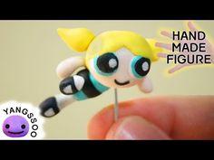 폴리머클레이로 파워퍼프걸 버블 만들기 [양쑤] The Powerpuff Girls Bubbles Polymer Clay Tutorial - YouTube