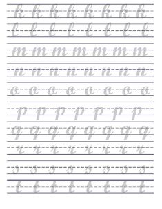 Cursive Writing Practice Sheets, Alphabet Practice Sheets, Hand Lettering Practice, Brush Lettering Worksheet, Lettering Guide, Graffiti Lettering, Lettering Styles, Handwriting Alphabet, Hand Lettering Alphabet