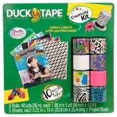 Duck tape craft kit? Is this real life?