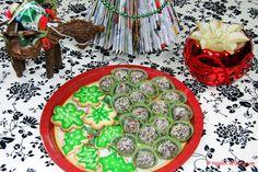 Sugar Cookies and Chocolate Strawberry Truffle