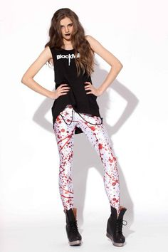 bloodspatter leggings