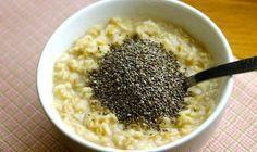 Logra un vientre plano con este desayuno de avena y semillas de chía | La Bioguía