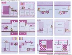 Whimsy Handmade Baby Girl Album - Thank you to my friend Brenda for lending me her talents. Love this workshop. ♥