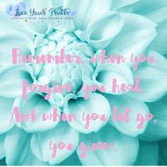 Let go of the hurt to feel whole again. Pain consumes you. Forgiveness frees you. #loveyourtruth #sincerelyyours