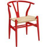 Hans Wegner Wishbone Chair Red
