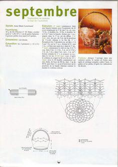Koszyczki - Urszula Niziołek - Picasa Web Albums Crochet Bowl, Filet Crochet, Crochet Stitches, Crochet Double, Crochet Accessories, Doilies, Crochet Projects, Projects To Try, Crochet Baskets
