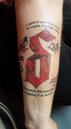 .@Shinedown Tattoo submitted by Melissa Kizer #ShinedownInk #Shinedown