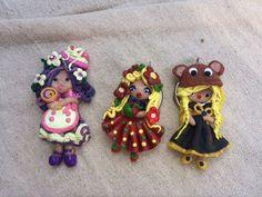 polymer clay dolls kawaii