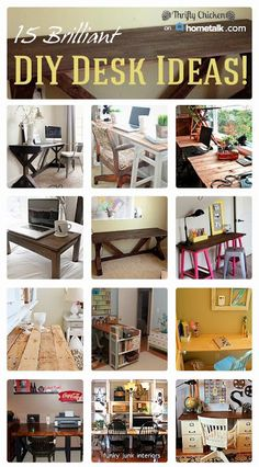 15 Brilliant Diy Desk Ideas