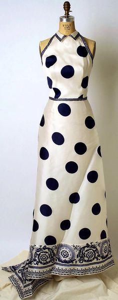 1960's Silk Gown