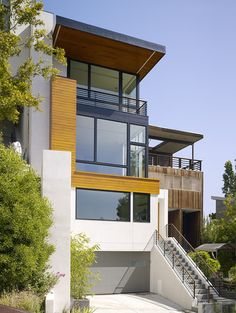 Hill Street Residence, SF  http://www.m-architecture.com