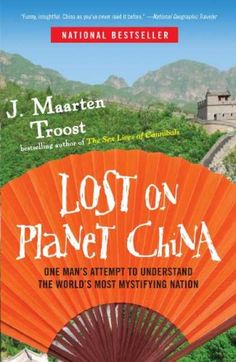"""Lost on Planet China; A laugh-out-loud memoir that really took me back to summer 2007 in Handan, China. Loved the Chairman Mao references, the trip to the Chinese Medical Center, shouts of """"laowai!"""" and photographs with strangers. Excellent."""