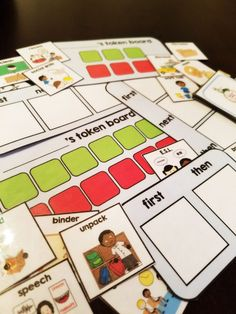 Here is pack of behavior visuals for students with autism or for any special education classroom. The pack contains a variety of token economy boards, visual schedules, and visuals. These behavior visuals are great for a wide variety of abilities.