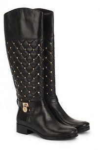 Michael Kors Hamilton Womens Black Boots