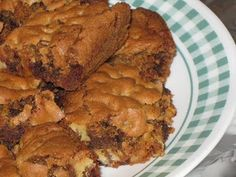 Blondies- so rich and yummy!