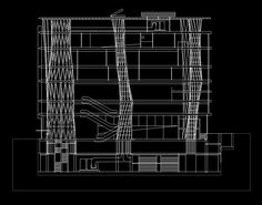 Sendai Mediatheque Toyo Ito U2013 CAD Design | Free CAD Blocks,Drawings,Details