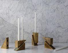 Geometric Changeability: Candle Blocks by Apparatus Studio