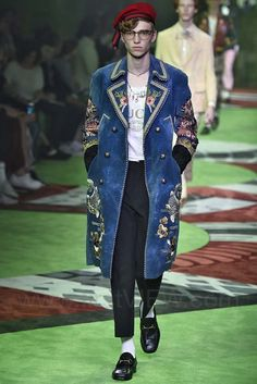 Gucci - Ready-to-Wear - Runway Collection - Men Spring / Summer 2017