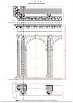 Corinthian Intercolumniation with Arch