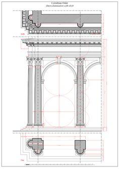 Corinthian Intercolumniation with Arch