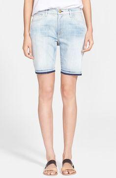 Women's Current/Elliott 'The Bermuda' Jean Shorts