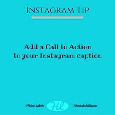 Writing a good Instagram caption is important because it could be the key to having your post seen by your followers. Instagram captions with calls-to-action can help you get more comments and with the new Instagram algorithm favouring engagement comments can directly affect your overall Instagram marketing strategy. To create a call-to-action on Instagram you just need to ask your followers to do something after reading your caption! You can ask them a question about what theyre up to this…
