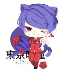 Tokyo Ghoul | Neko Chibi Shuu Anime Kawaii, Anime Chibi, Manga Anime, Tsukiyama, Kaneki, My Little Baby, Tokyo Ghoul, Mini, Creepy