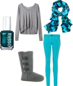 """""""comfy fall"""" by kellycowan on Polyvore  LOVE!"""
