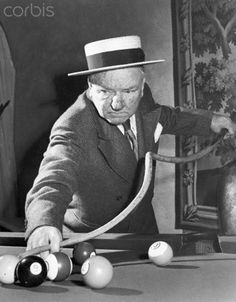 W. C. Fields, pool routine