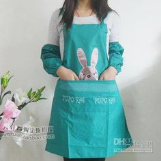 what a cute idea for an easter apron