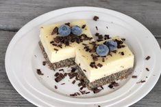 Jednoduchý makový zákusok, recept, Zákusky | Tortyodmamy.sk Dessert Recipes, Desserts, Tiramisu, Cheesecake, Food And Drink, Keto, Ethnic Recipes, Gardening, Bakken