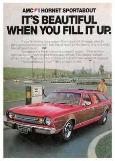 AMC Hornet Sportabout Wagon, print adv.