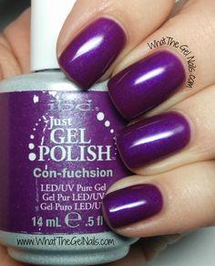 IBD Con-fuchsion, plus more IBD Just Gel Nail Polish Colors