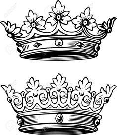 1598 best rosebrook decoupage 2 images vintage maps vintage 1952 Packard Cars crown drawing oldschool queen crown tattoo drawings family tattoos couple tattoos