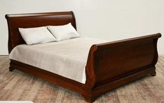 grace your bedroom with pure elegance with this divine sleigh bed