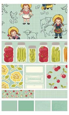 Farm Girl fabric line by October Afternoon for Riley Blake Designs—Subscribe to our newsletter at http://www.rileyblakedesigns.com/newsletter/