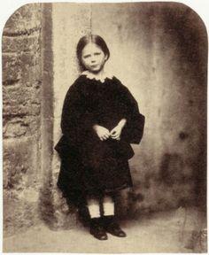 Lewis Carroll [Charles Lutwidge Dodgson]  Mary Lott  Christ Church, Oxford, Spring 1857  From Lewis Carroll, Photographer