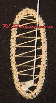 Tutorial macrame romeno, point