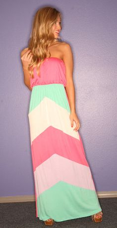 In Your Dreamsicle Maxi...love these colors together!