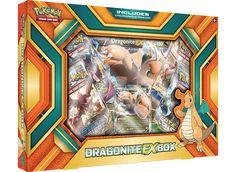 Pokemon Dragonite EX Collection Box New With Promo Card Pokemon Tins, Pokemon Cards, Pokemon Go Images, Dragon Type Pokemon, Xbox, Pokemon Charizard, Pokemon Trading Card, Trading Cards, France