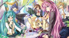 Vocaloid Luka Megurine Anime Chicas