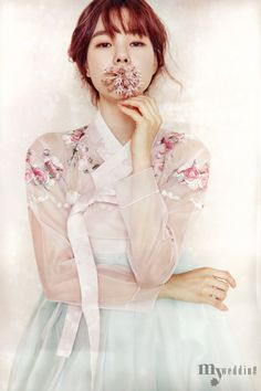 Korean Culture Fashion- Appreciate the Hanbok Korean Traditional Dress, Traditional Fashion, Traditional Dresses, Korean Dress, Korean Outfits, Hanbok Wedding, Wedding Dress, Modern Hanbok, Oriental Dress