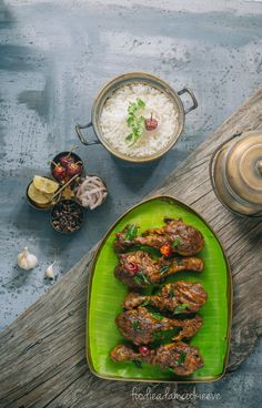 This Chettinad version of ghee chicken recipe by Foodie Adam Cookie will get you drooling!